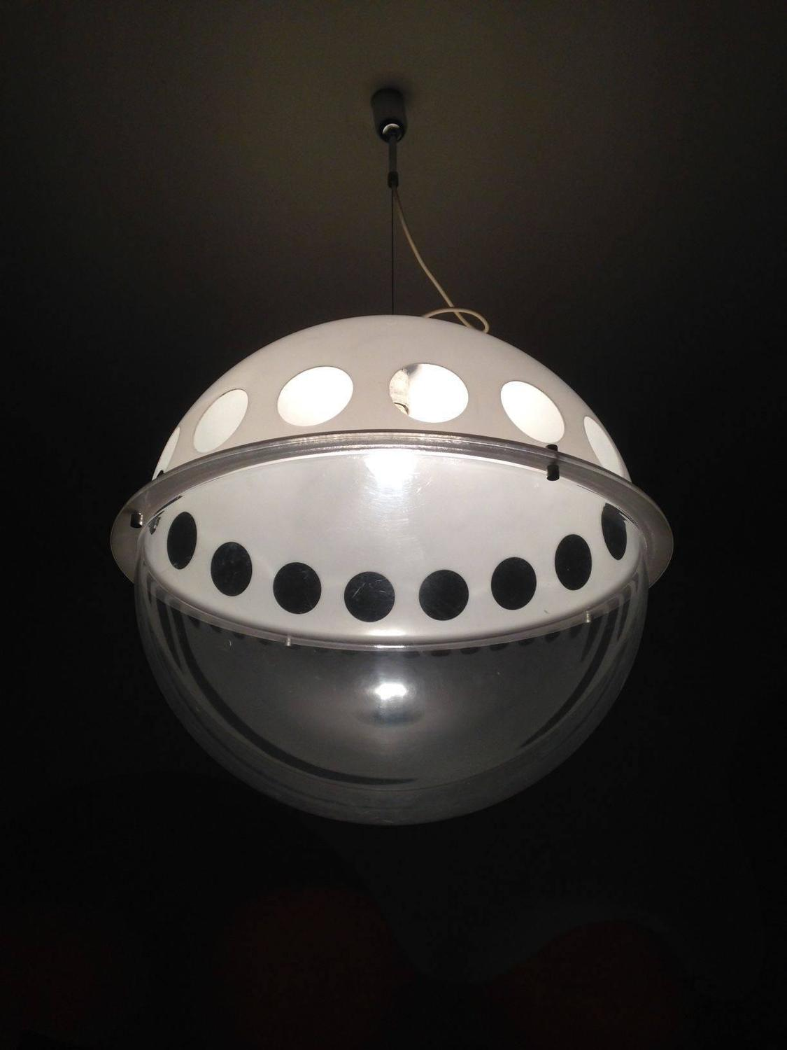 1970s Pendant Lamp by Zonca for Minilumi For Sale at 1stdibs
