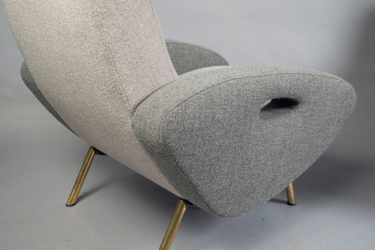 Pair of Armchairs by Maurice Mourra Freres, 1950s 3