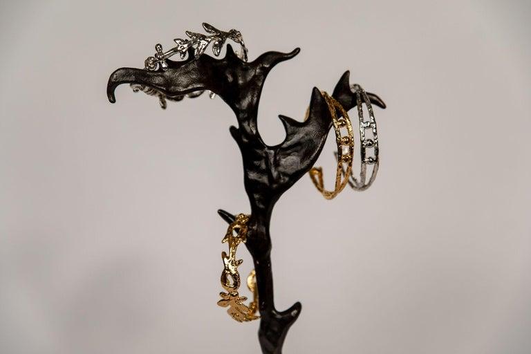 Contemporary Hook Bracelets by Franck Evennou, France, 2018 For Sale