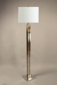 Pair of Floor Lamps, Maison Charles, France, 1980's