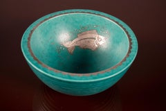 Stoneware Bowl by Wilhelm Kage, Gustavsberg, Sweden, 1930's