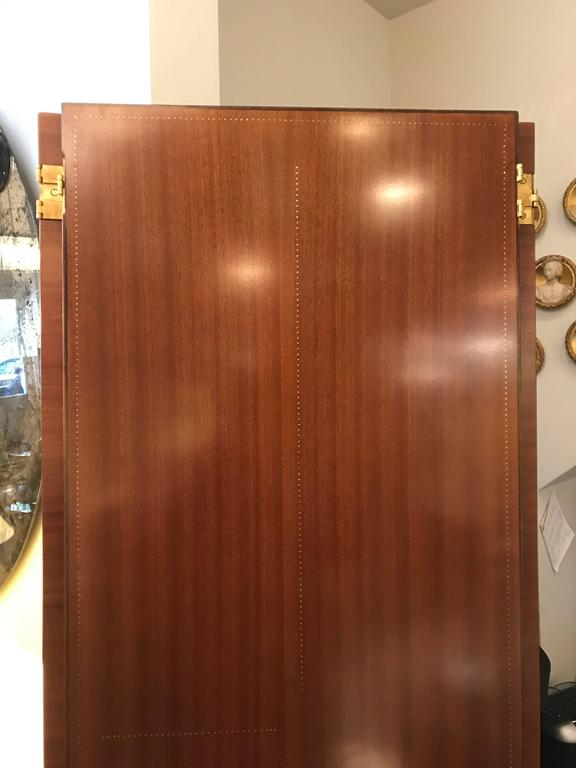 French Four-Panel Screen by André Sornay, Lyon France, circa 1938 For Sale
