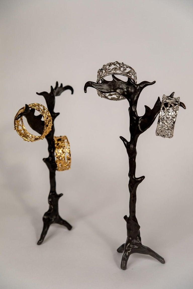 Bronze Zoo Bracelet by Franck Evennou, France, 2018 For Sale