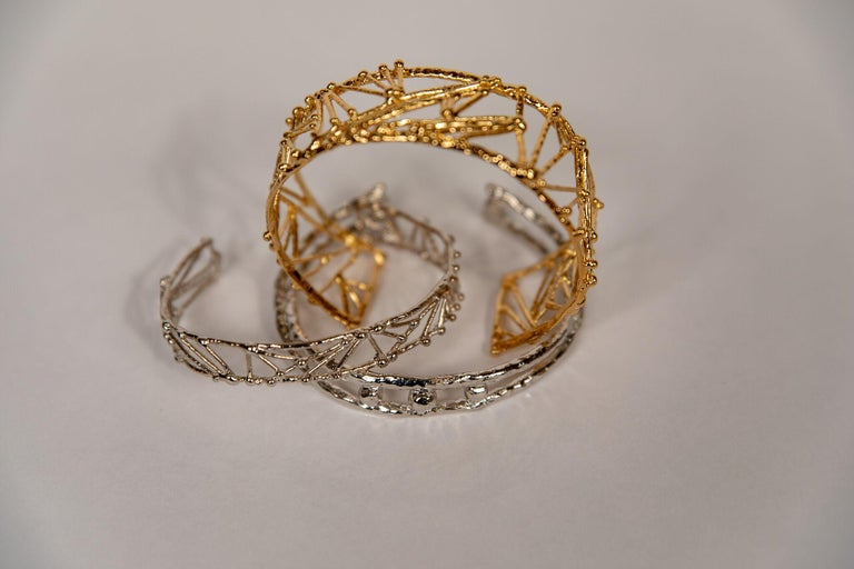 Small Twig Bracelet by Franck Evennou, France, 2018 In New Condition For Sale In New York, NY