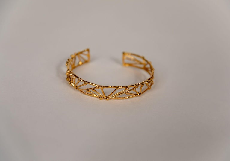 French Small Twig Bracelet by Franck Evennou, France, 2018 For Sale