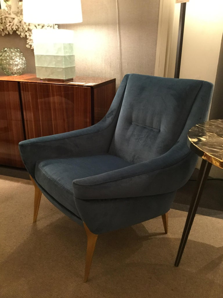 20th Century Pair of Armchairs by Charles Ramos, France, 1960s For Sale