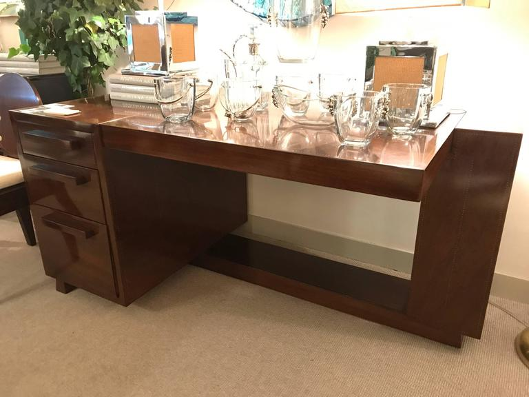 Desk by Andre Sornay, France, 1936 In Good Condition For Sale In New York, NY
