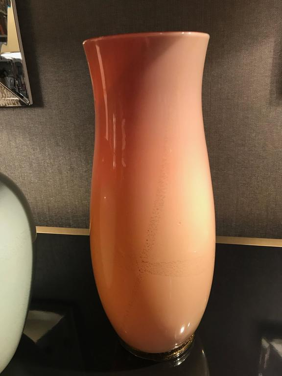 Italian Vase by Tomaso Buzzi for Venini, Italy 1930's For Sale