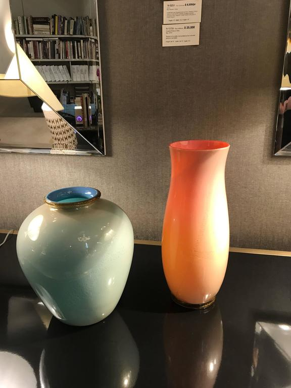 Vase by Tomaso Buzzi for Venini, Italy 1930's In Good Condition For Sale In New York, NY