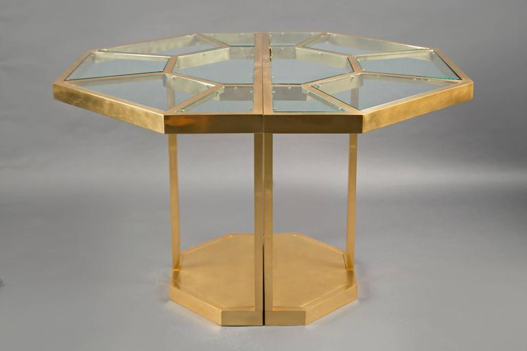 Mid-Century Modern Center Table by Gabriella Crespi, Italy, circa 1973 For Sale