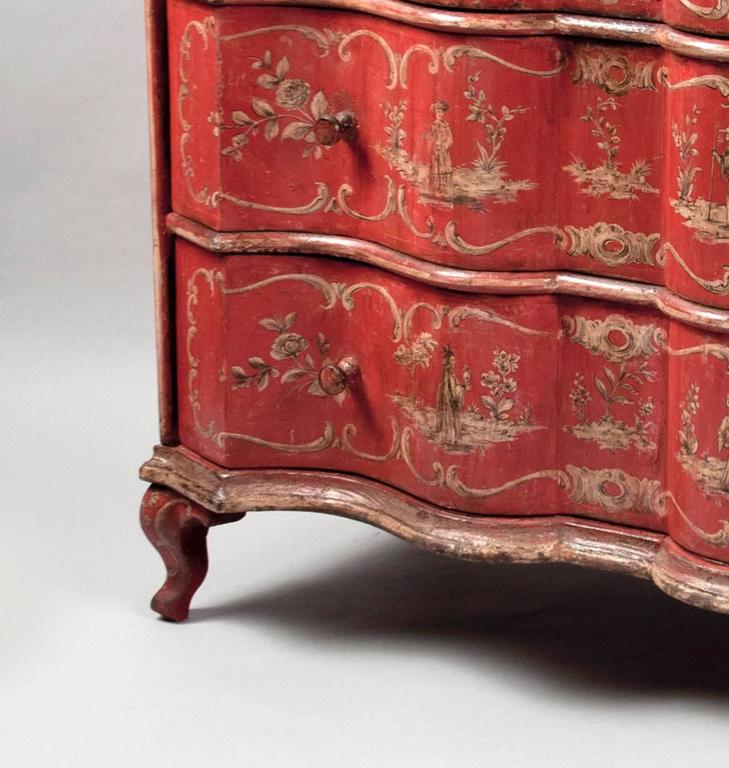 Baroque Revival Commode in Baroque Style, Italy, circa 1830 For Sale