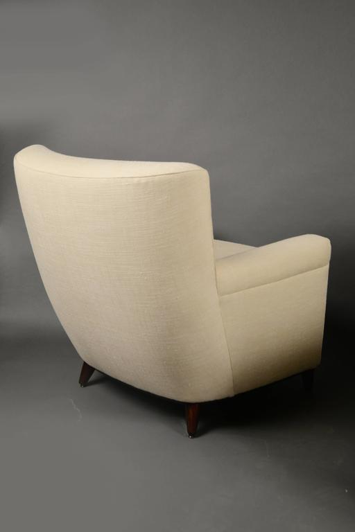 Pair of Armchairs by Guglielmo Ulrich, Italy, circa 1950 2
