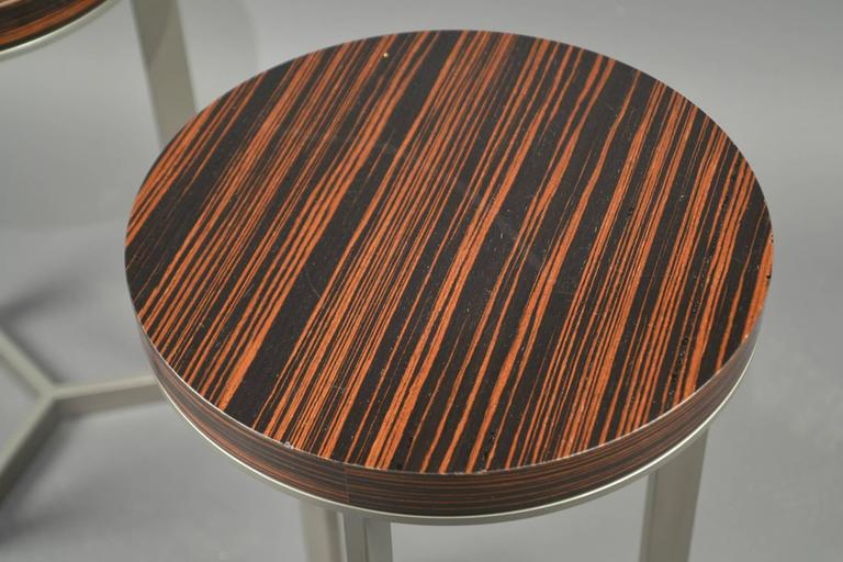 Pair of Side Tables, France, 1980's 2
