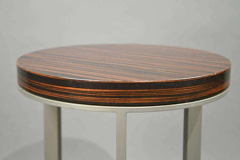 Pair of Side Tables, France, 1980's 3