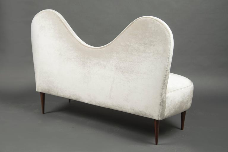 Two-Seat SofaAttributed to Cesare Lacca, Italy, circa 1950 3