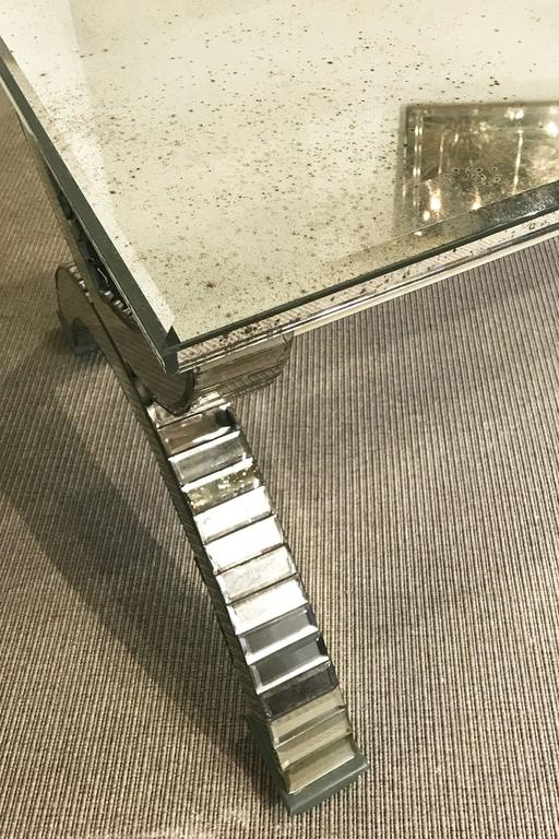 Late 20th Century Mirrored Coffee Table, France, 1970's For Sale