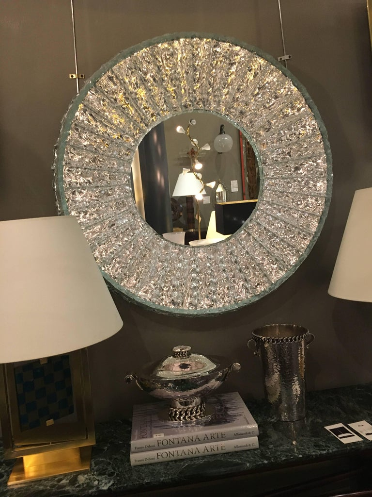 Single Mirror by Roberto Rida, Italy, 2016 In Good Condition For Sale In New York, NY