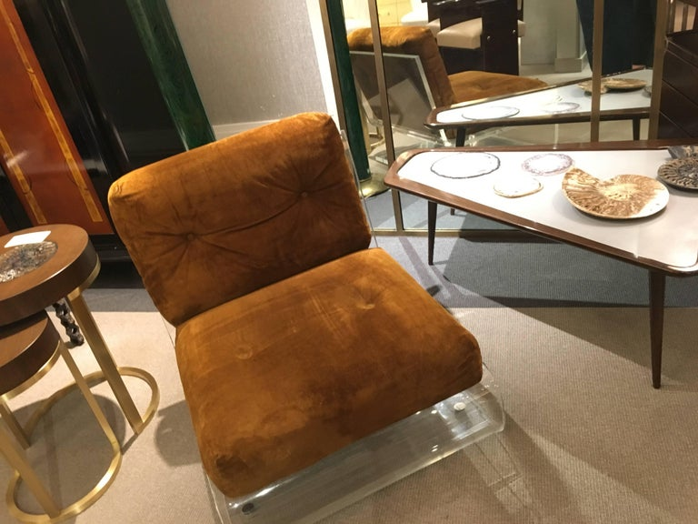 Pair of Lounge Chairs, France, 1970s In Excellent Condition For Sale In New York, NY