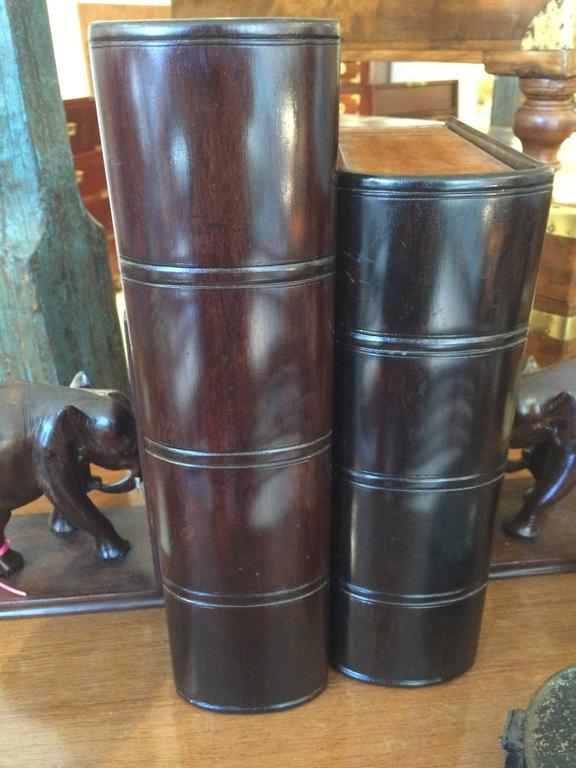 Satinwood and Rosewood Book Box In Excellent Condition For Sale In Nantucket, MA