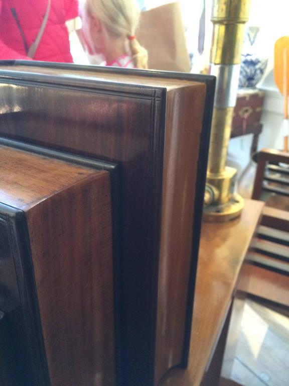 20th Century Satinwood and Rosewood Book Box For Sale