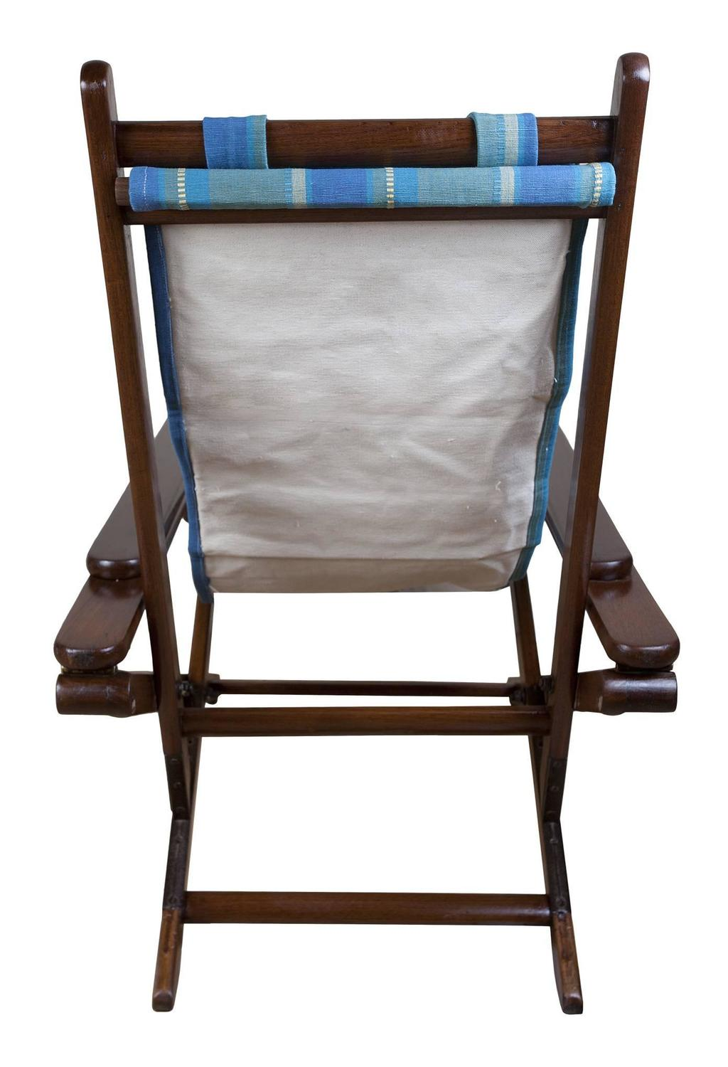 Pair Of British Campaign Folding And Adjustable Chairs