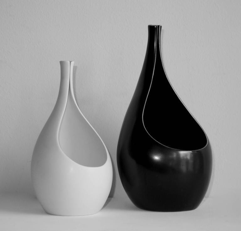 Set of Pungo Vases by Stig Lindberg for Gustavsberg, 1953 2