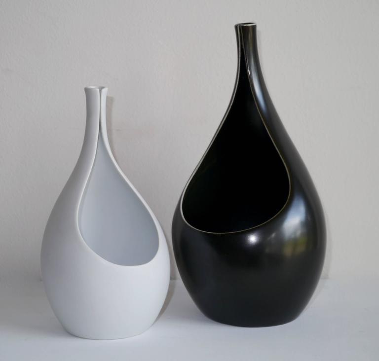 Set of Pungo Vases by Stig Lindberg for Gustavsberg, 1953 8