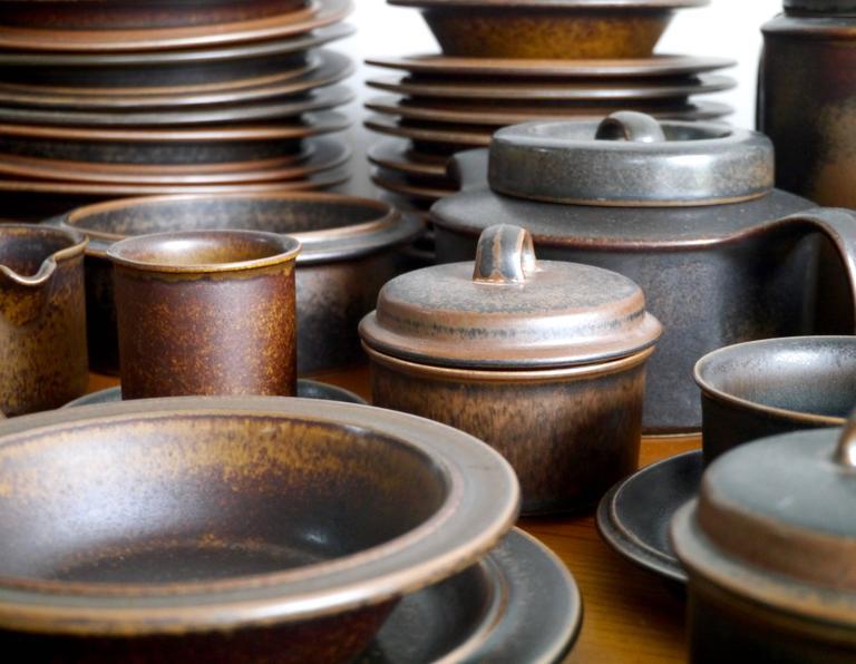 Scandinavian Modern 66 Pieces Ulla Procope \ Ruska\  Dinnerware for Arabia ... & 66 Pieces Ulla Procope \