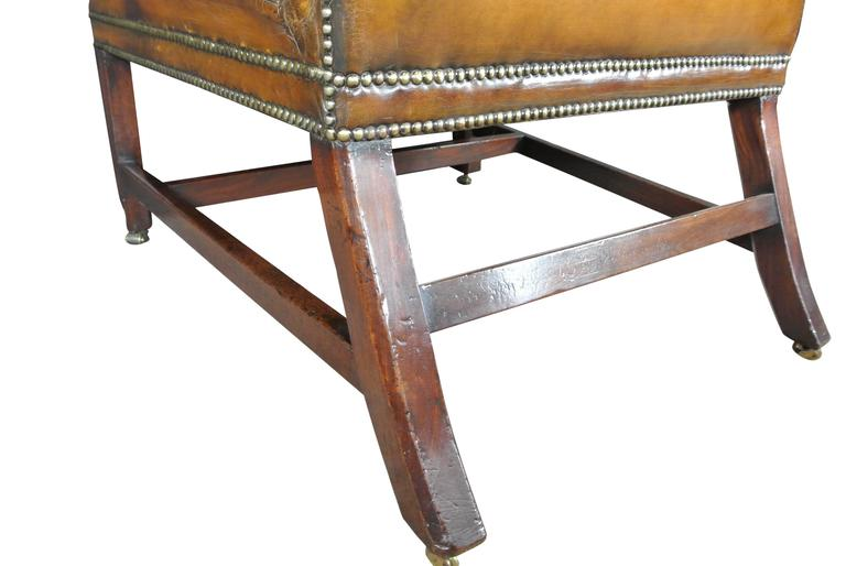 Mid-18th Century George III Gainsborough Chair For Sale