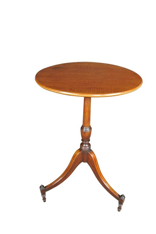 Sheraton George III Mahogany Wine Table For Sale