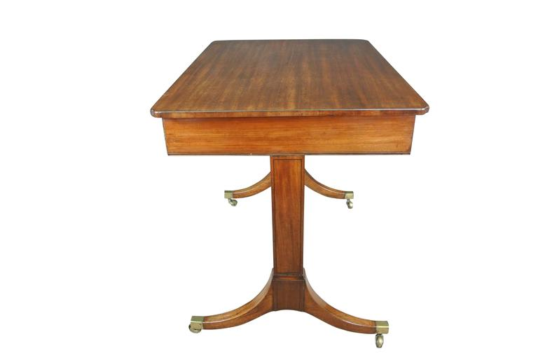 English Regency Mahogany Occasional Table For Sale