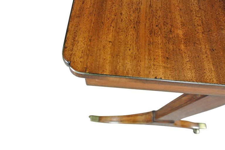 Regency Mahogany Occasional Table For Sale 1