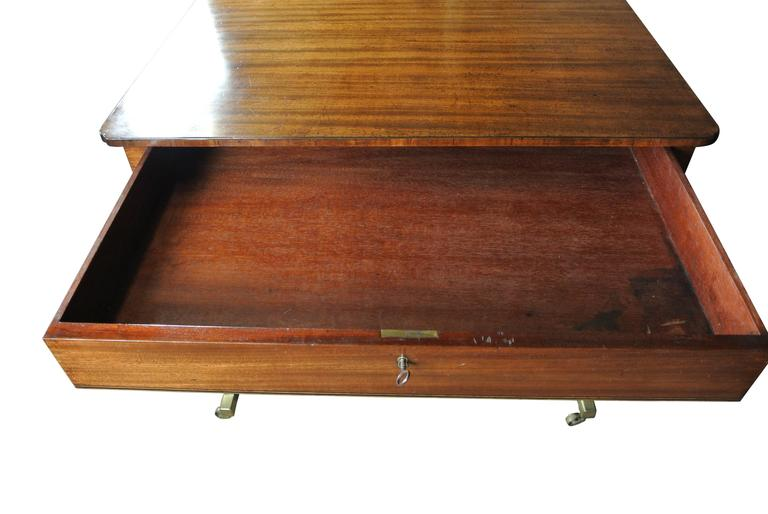 Regency Mahogany Occasional Table For Sale 2
