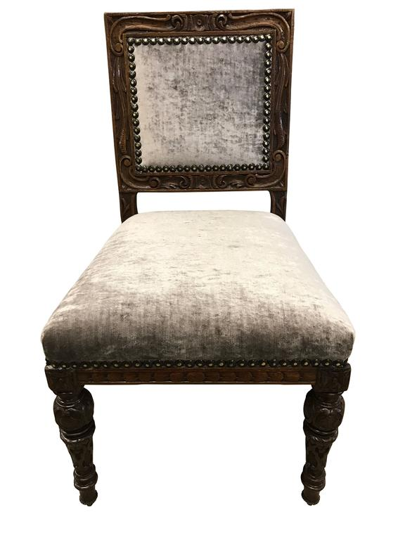 12 gillows 19th century oak dining chairs for sale at 1stdibs