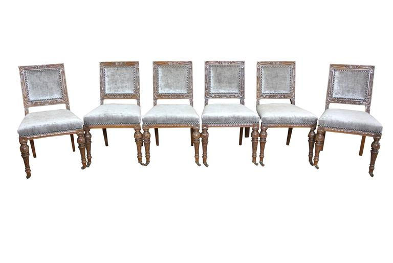 12 Gillows 19th Century Dining Chairs 8