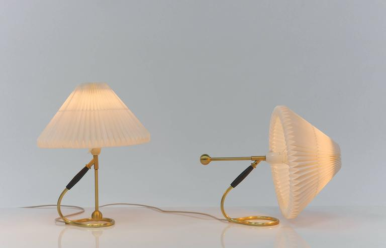 Pair of Le Klint 306 Lamps by Kaare Klint For Sale at 1stdibs