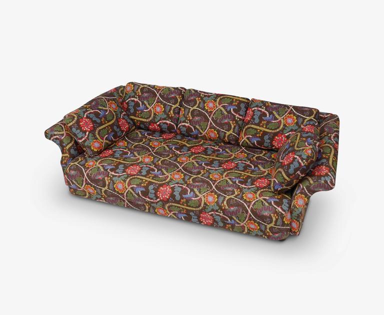 Beautiful Swedish Liljevalch Sofa By Josef Frank For Svenskt Tenn For Sale Design Ideas