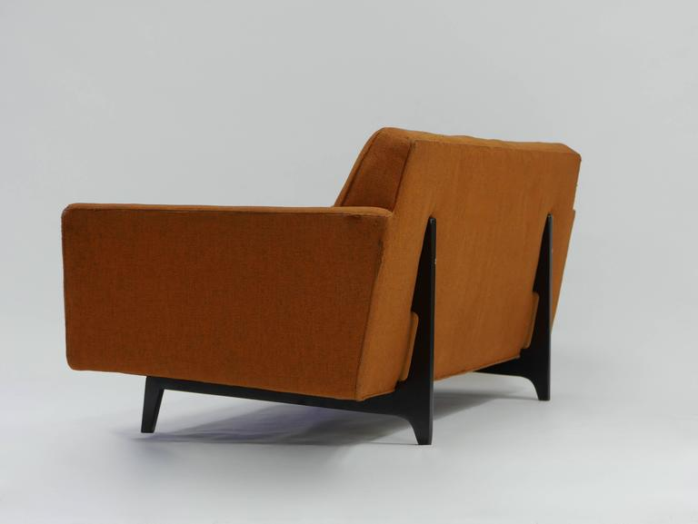 20th Century Pair of Bracket Back Sofas by Edward Wormley for Dunbar For Sale