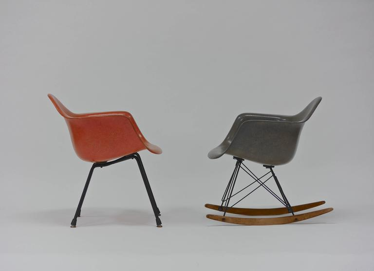Iconic rocker and lounge chair by charles eames for zenith Iconic eames chair