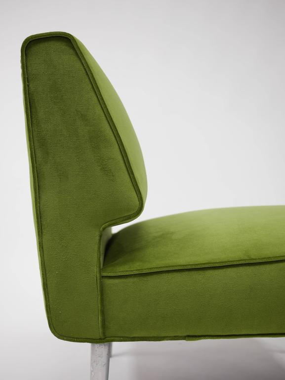 Mid-20th Century Pair of Lounge Chairs by Edward Wormley for Dunbar For Sale