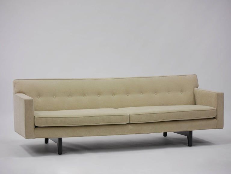 Bracket Back Sofa by Edward Wormley for Dunbar 2