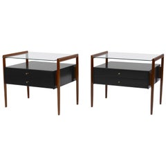 Pair of Drexel Parallel Group Nightstands