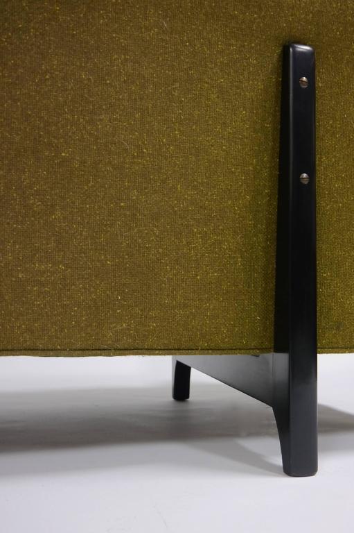 North American Edward Wormley for Dunbar Bracket back sofa For Sale