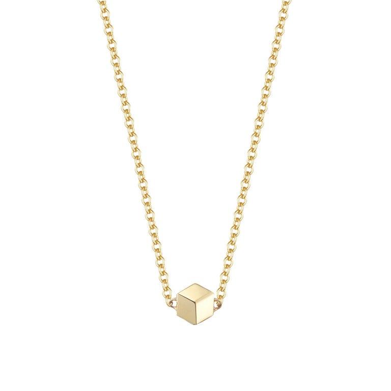 18 Karat Yellow Gold Brillante Natalie Necklace