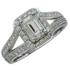 1.71 Carat Diamond Engagement Ring