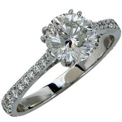 1.87 Carat Diamond Engagement Ring