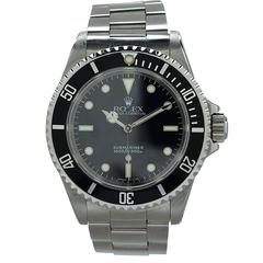 Mens Rolex Oyster Perpetual Submariner 14060 Wrist Watch