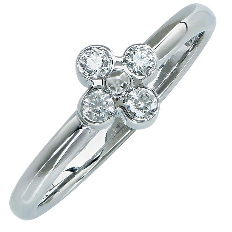 Tiffany & Co. Diamond Ring For Sale