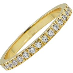 .20 Carat Tiffany & Co. Diamond Gold Band