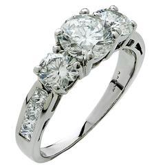 1.38 Carat Diamond Engagement Ring